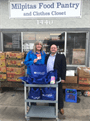 Donation to Milpitas Food Pantry